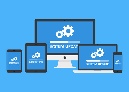 System update set Stock fotó - 89703452
