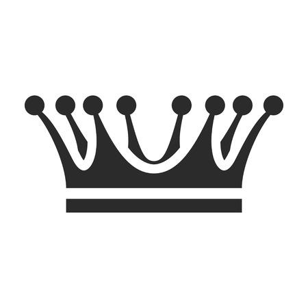Crown icon, coronation and heraldry emblem design Фото со стока - 123647666