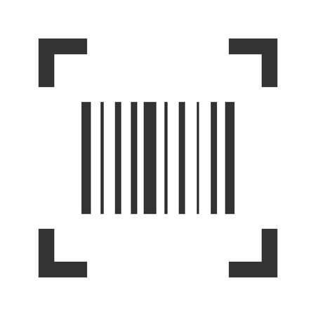 Barcode scan icon, product price reader sticker Фото со стока - 123647611