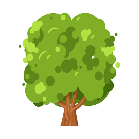 Green tree nature and environment, ecology concept