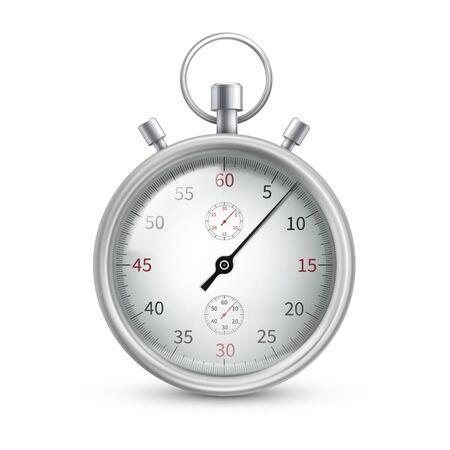 Stopwatch, special watch to start, stop, measure Vektoros illusztráció