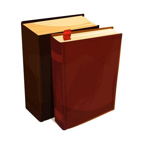 Pile de vieux livres, symbole de sagesse et d'information