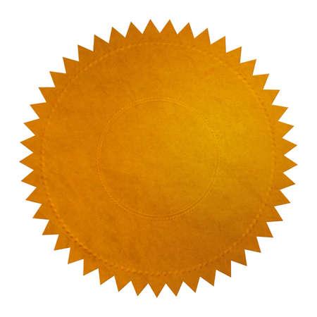Golden Seal Stockfoto