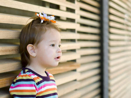 ���little one���: Little one Years old baby girl looking for someone far away to plays with them