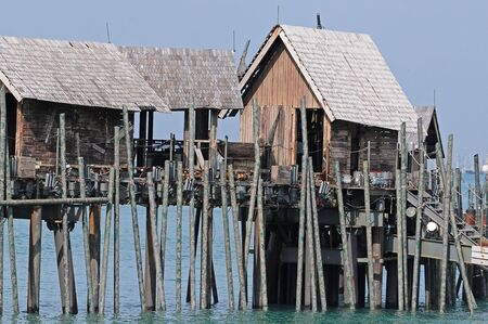 corrode: Huts On Stilt By The Sea