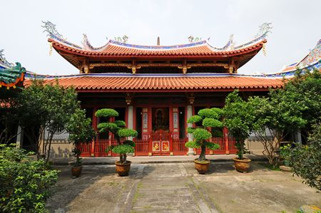 cravings: Chinese Temple Stock Photo