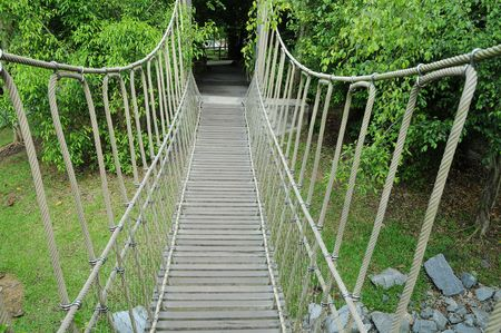 Suspension Walk Bridge photo