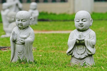 craving: Young Buddha Standing Pose