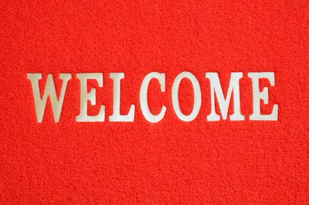 Welcome Mat Stock Photo - 7150569