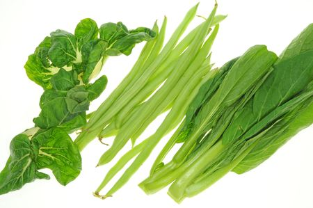 Assorted Green Vegetables Archivio Fotografico