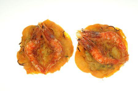 Deep Fried prawn Cake Stock Photo - 7317634
