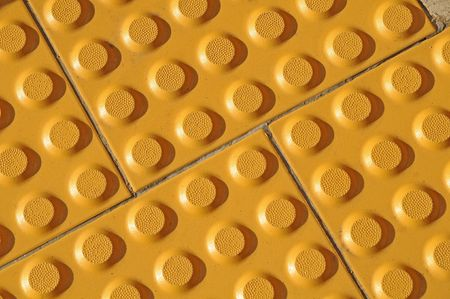 Textured Pattern Of Tactile Paving