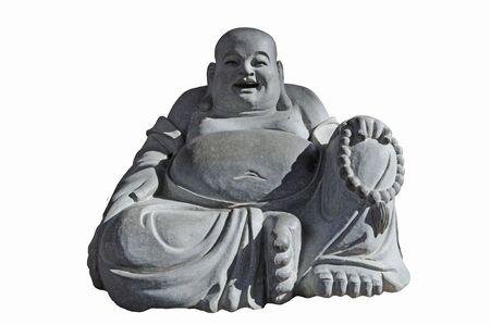 Stone Craving Of A Sitting Buddha photo