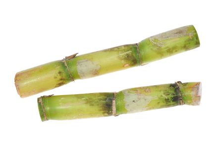 Sugarcane On White background Stock Photo - 8054526