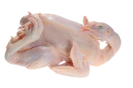 Whole Chicken Ready For Cooking photo