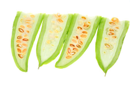 phenotype: Sectional View  Of Sliced Bitter Gourd