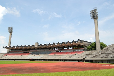 Small Stadium In The Outskirt photo