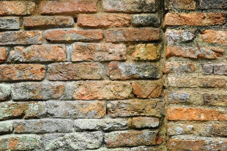 Abstract View Of An Old Brick Wall  Stock Photo - 9269387