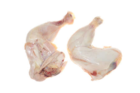 Raw chicken Thigh With Drumstick photo