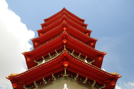 Chinese Pagoda Closeup