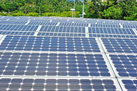 Outdoor Solar Panel Installation photo