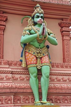 indian god: Hindu God, Hanuman, At A Temple
