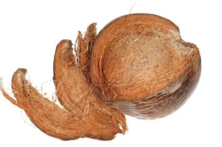 Husked Ripe Coconut