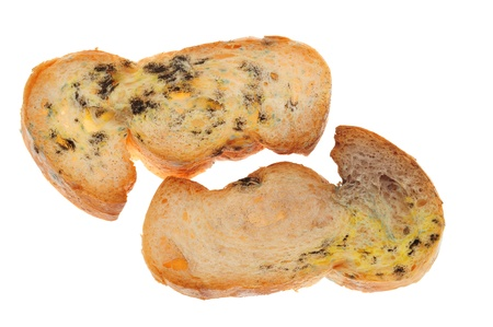 Mold Growing On A Stale Breads  photo