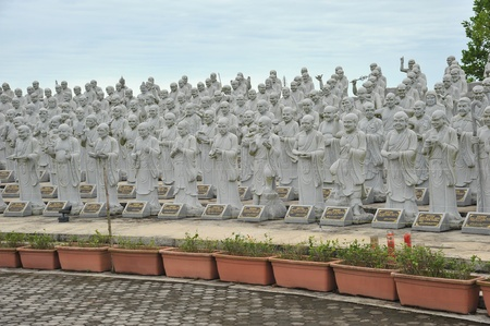 arhat: Statues Of Louhans, Arhats At A Temple Ground