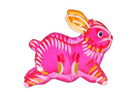 Colorful Rabbit Lantern For Mid Autumn Festival Archivio Fotografico