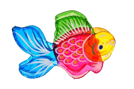 Colorful Fish Lantern For Mid Autumn Festival photo