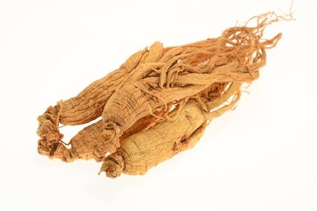 elixir: Conserva ra�ces de ginseng Foto de archivo