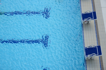 piscina olimpica: Con piscina parrilla de salida