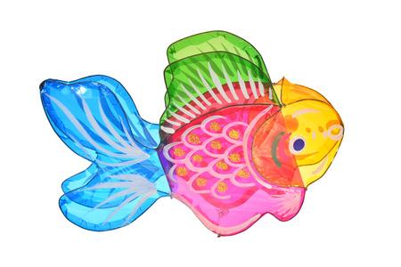 Colorful Fish Lantern Stock Photo