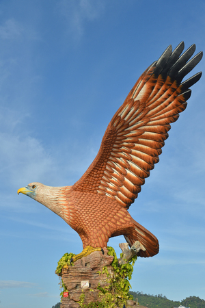 Eagle Statue At Langkawi Island
