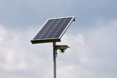 Solar Powered  Surveillance Camera