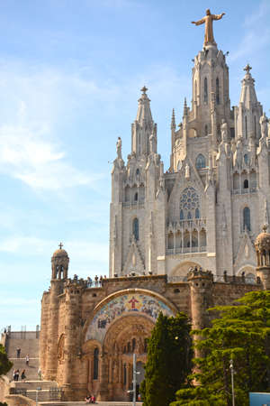 Expiatory Church of the Sacred Heart on the Tibidabo, Barcelona
