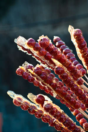 sugarcoated: Traditional Chinese food  Sugar-coated haws