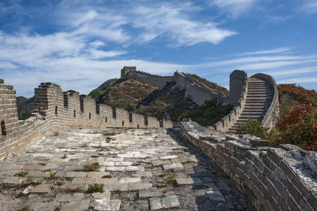 Great Wall and sky photo