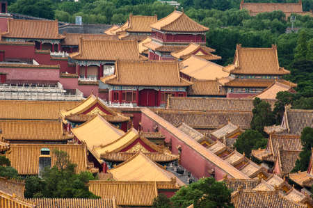 Landscape of Forbidden City, Beijing