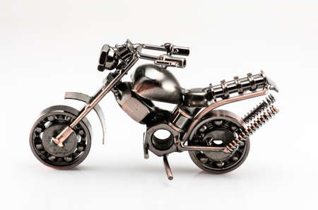 A motorcycle model consist of bike Stock Photo - 15150348