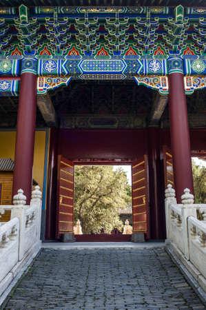 confucian: The gate of Confucian Temple, Beijing