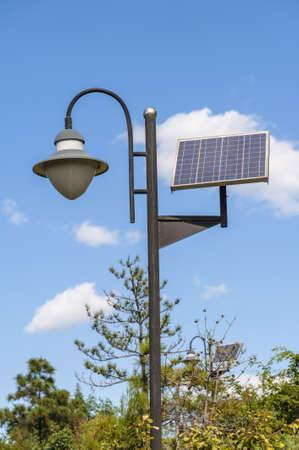 Solar street light photo