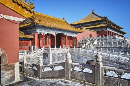 forbidden city: Buildings in Forbidden City Editorial