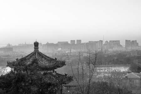 Landscape of Beijing city