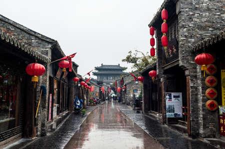 Dongguan street of Yangzhou, China