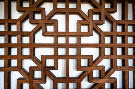 Chinese style window frame