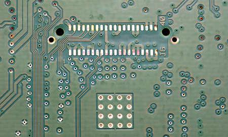 board: A printed circuit board.
