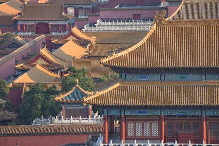 Forbidden City: The golden roof of Forbidden City