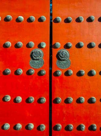 Red gate in Forbidden City